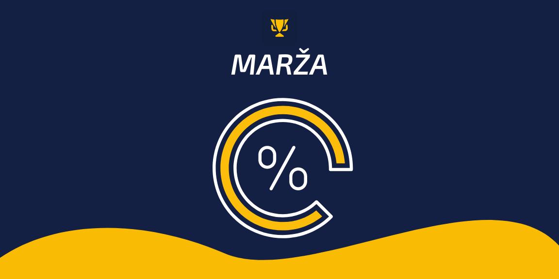 Marža – sporta totalizatoru garantētā peļņa