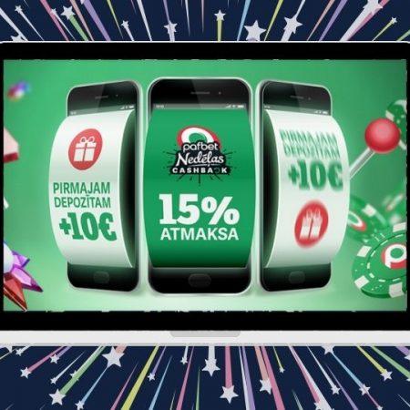 Labākais gada interneta kazino dubulto jauno klientu bonusu – nepalaid garām!