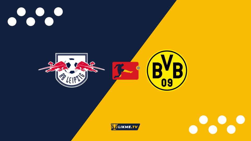 RB Leipzig un Borussia, likme.tv