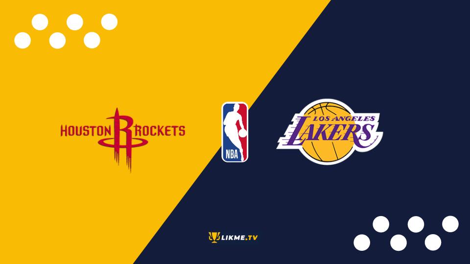 """Hjūstonas """"Rockets"""" un Losandželosas """"Lakers"""", likme.tv"""