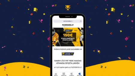 Uzlabots piedāvājums: 150 eiro naudas atmaksa sporta likmēm – saņem to šeit!