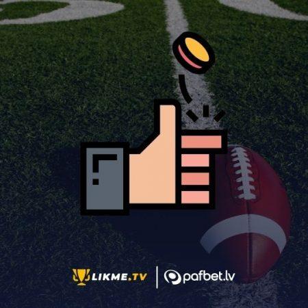 NFL Superbols 2021: Monētas mešana