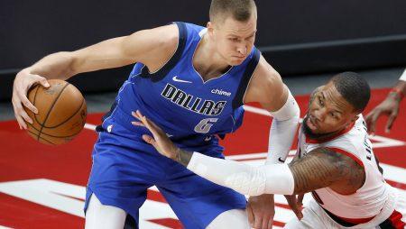 Latviešu pārstāvētās komandas NBA spēlē nevainojami (VIDEO)