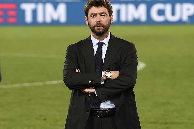"""""""Juventus"""" prezidents Andrea Agneli, likmetv"""