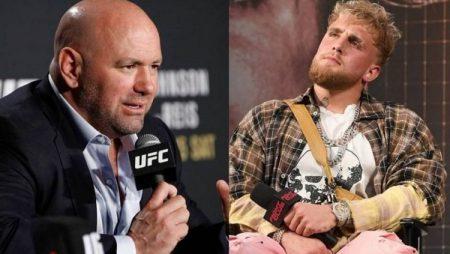 UFC prezidents un Džeiks Pols iesaistās vārdu apmaiņā