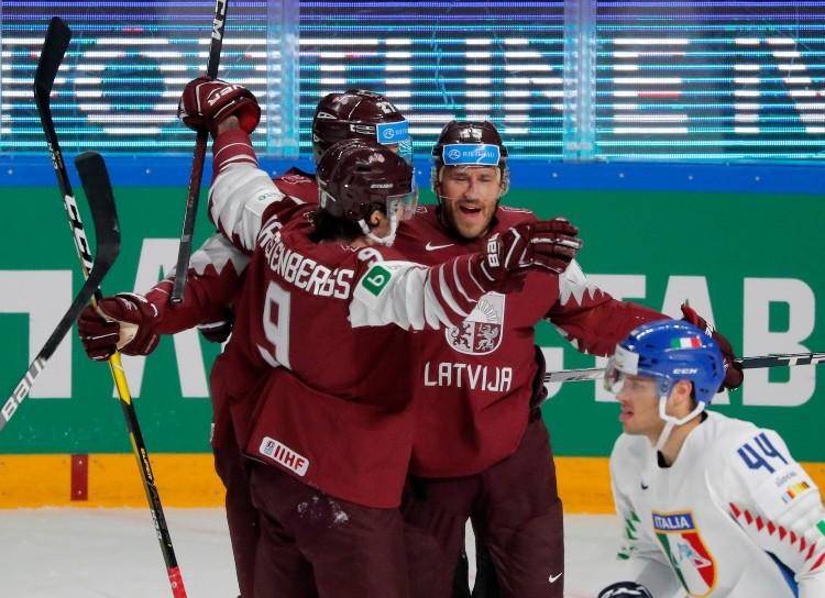 Latvijas hokeja izlase, likmetv