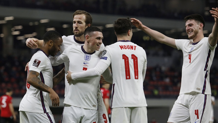 Anglijas futbola izlase, likmetv