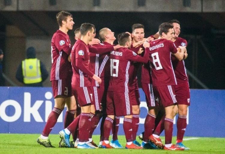 Latvijas futbola izlase, likmetv