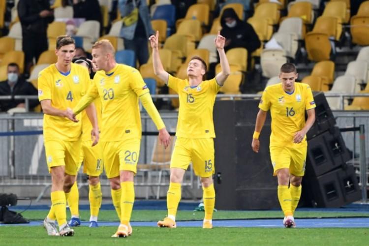 Ukrainas futbola izlase, likmetv