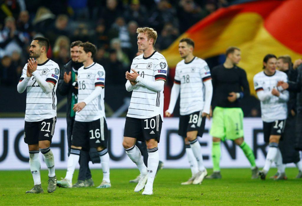 Vācijas futbola izlase, likmetv