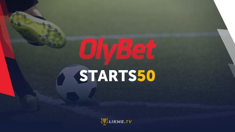 Olybet bonuss, likme.tv