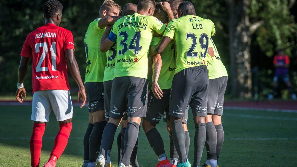Latvijas futbola komandas cīņā par Konferences līgas 3. kvalifikācijas kārtu